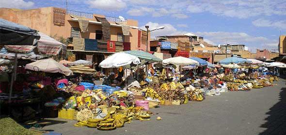 Artigianato del Marocco a Marrakech