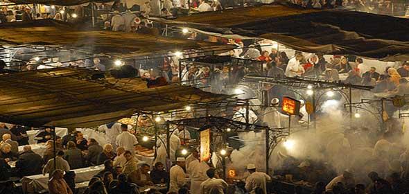 Cenare a Marrakech