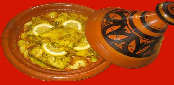 Ricetta Tajine di pesce del Marocco