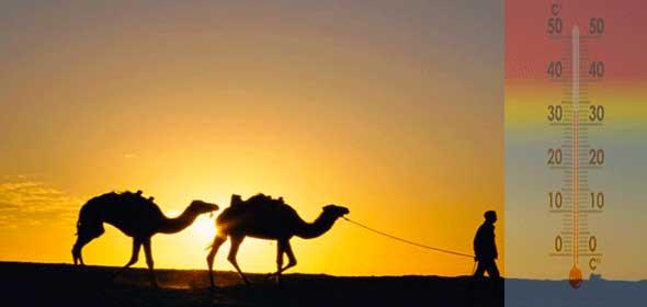Clima Marocco super caldo in arrivo