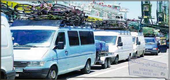 Dogana del Marocco - Nuove regole di transito