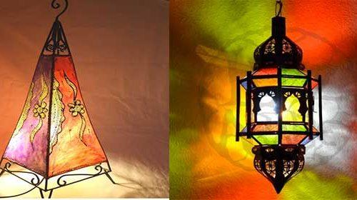 Lampade etniche Marocco