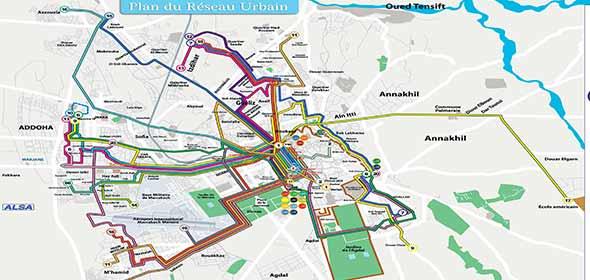 Trasporto pubblico a Marrakech