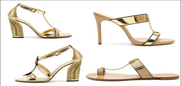 Moda scarpe del Marocco