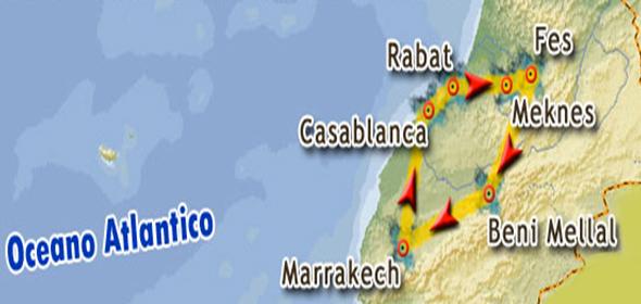 Tour città imperiali Marocco