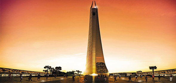 Torre Mohamed VI a Casablanca