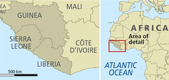 Rischio Ebola in Marocco anno 2015 e 2016
