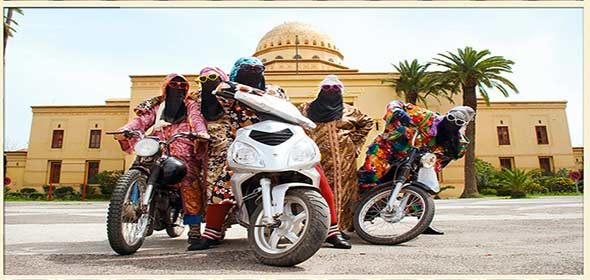 Donne in Moto a Marrakech
