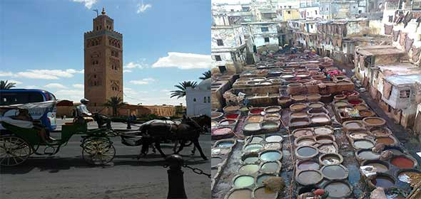 Marrakech cuore e anima