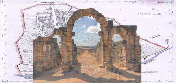 Volubilis patrimonio Unesco Marocco