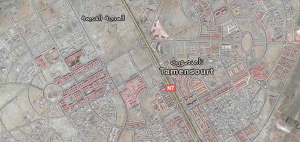 Tamansourt Marocco la nuova città