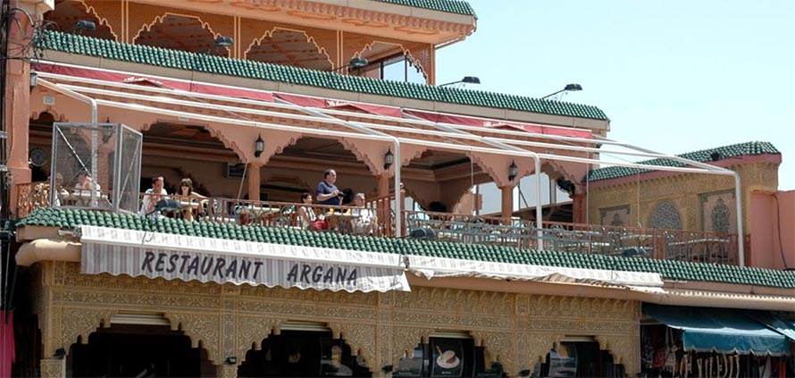 Cafe Argana Marrakech