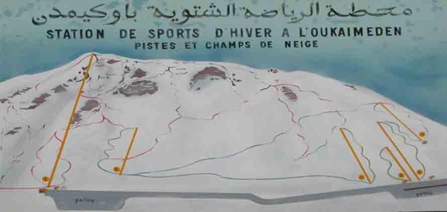 Sciare in Marocco