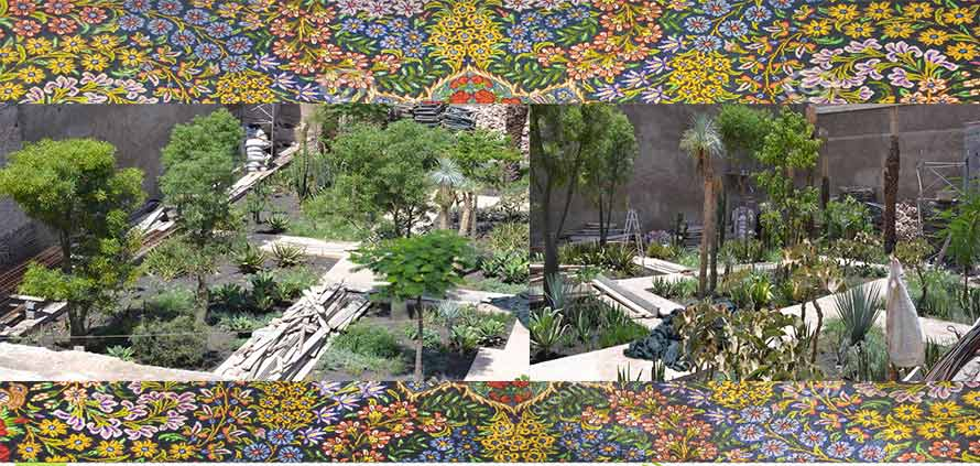 Il giardino segreto nella medina