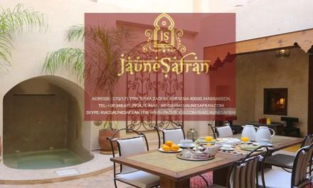 Riad Jaune Safran