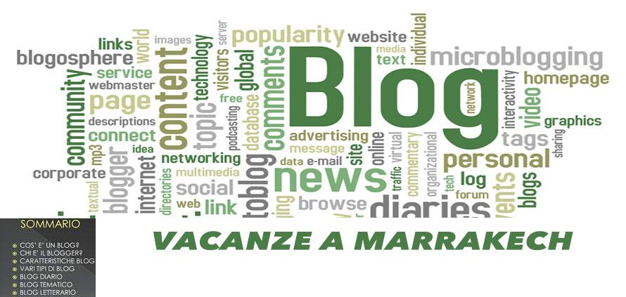 Vacanze a Marrakech é un blog diario