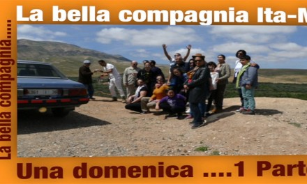 La bella compagnia in video Gita alla Valle Aziza