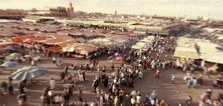 video-piazza-jemaa-el-fna-tramonto-marrakech
