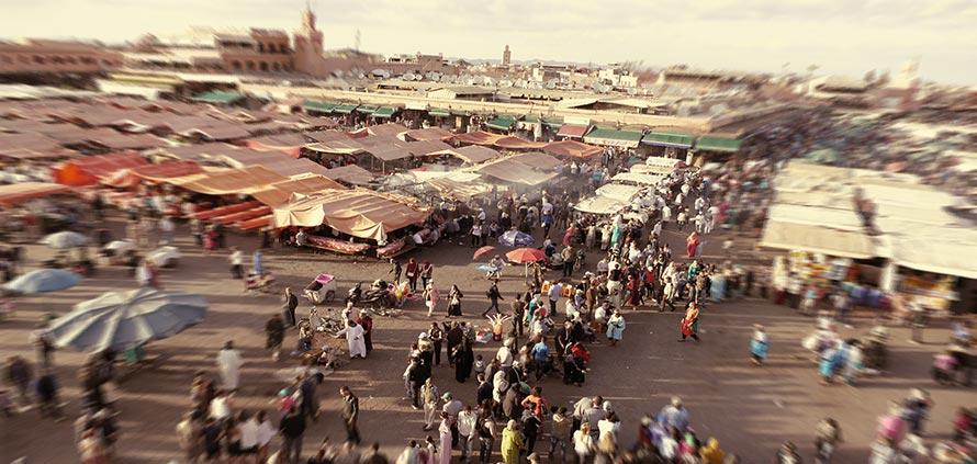 video-piazza-jemaa-el-fna-tramonto-marrakech