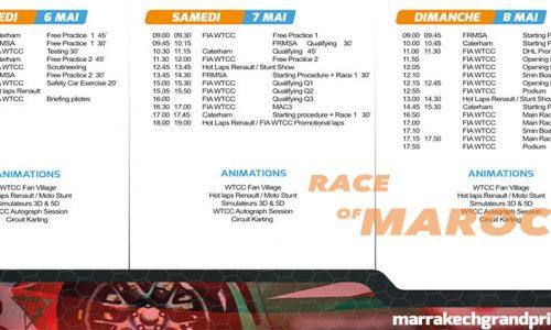 Marrakech Grand Prix Race of Marocco