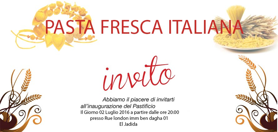 Pasta fresca italiana El Jadida