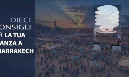 10 info utili su Marrakech