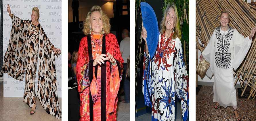 Marta Marzotto il made in Italy a Marrakech