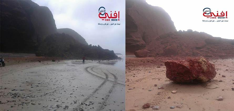 Arco di Legzira Marocco é crollato