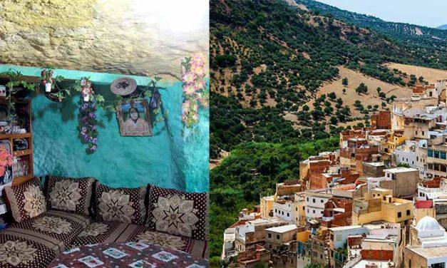 Bhalil Marocco la città delle case grotta