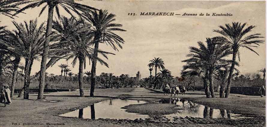 La storia del quartiere Gueliz Marrakech
