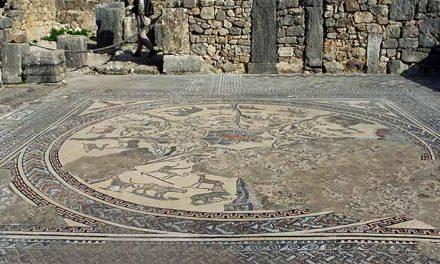 Mosaici romani a Volubilis Marocco