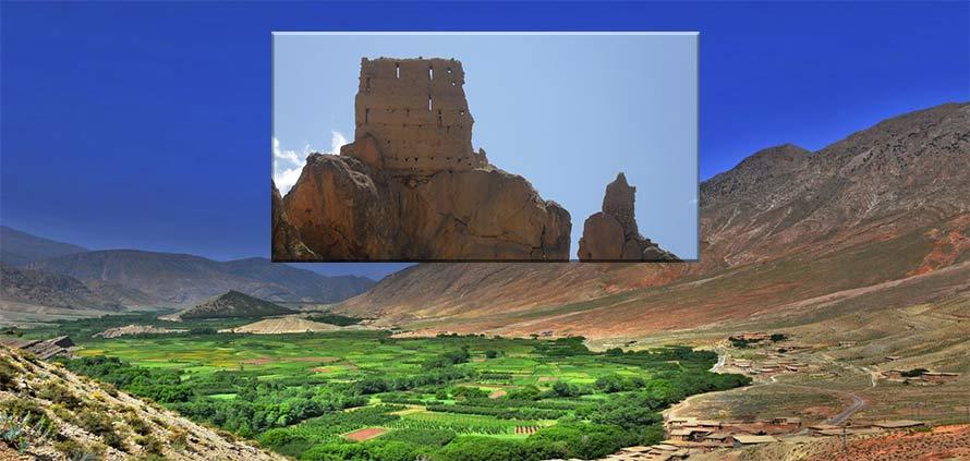 Valle Ait Bougumez Marocco