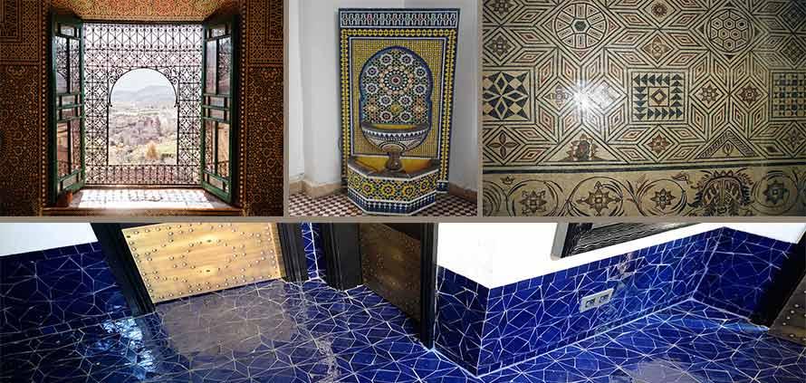 zellige la piastrella del marocco ideale per il bagno e