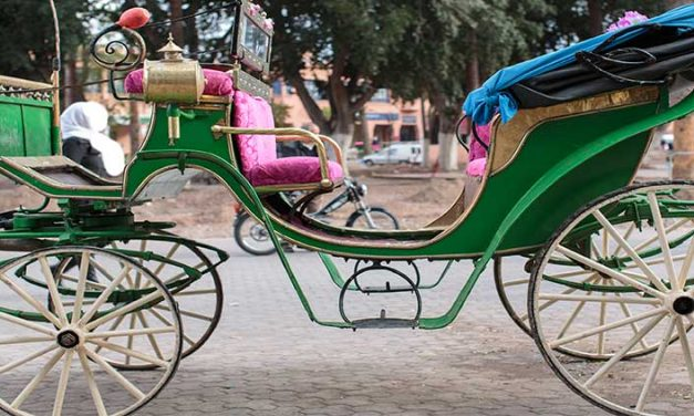 In carrozza a Marrakech