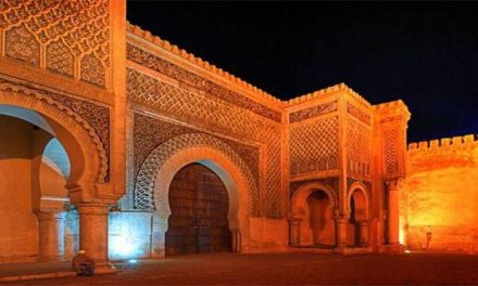 Meknes Marocco in compagnia di Nezha e Paolo