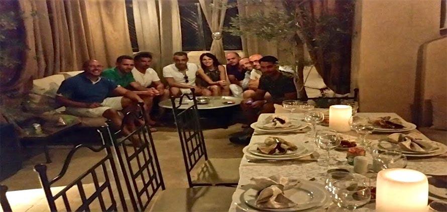 cena-del-corso-di-cucina-marocchina-al-riad