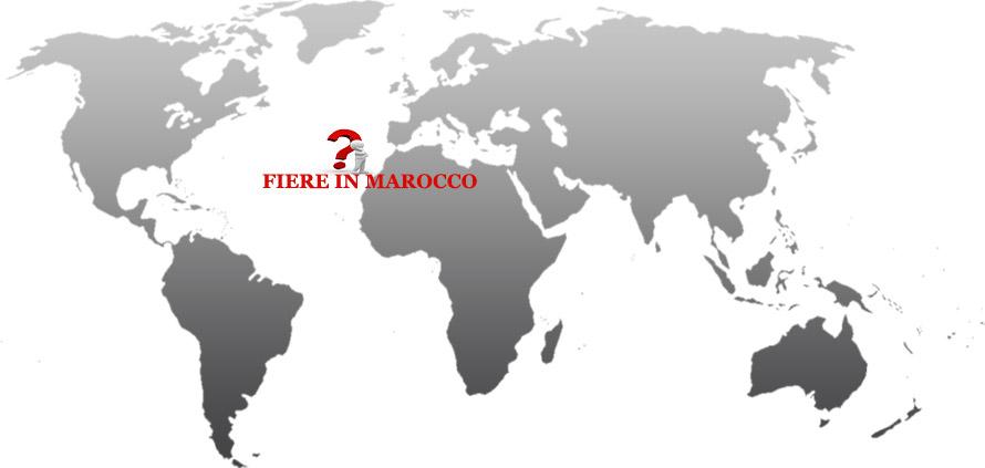 principali fiere del Marocco