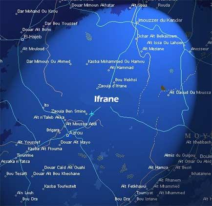 mappa-di-ifrane-marocco