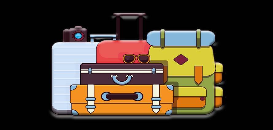 Lista delle cose da mettere in valigia