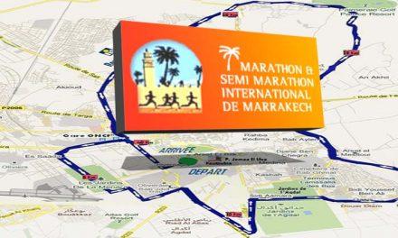 La grande Maratona di Marrakech 2017