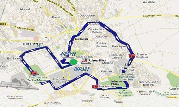 La Maratona di Marrakech 2018