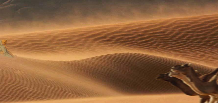 Caldo vento del Sahara