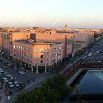 Aperitivo a Marrakech al tramonto