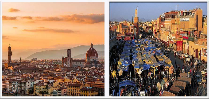 Marrakech la Firenze del Marocco