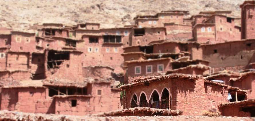 Magdaz Marocco un villaggio berbero fuori dal tempo