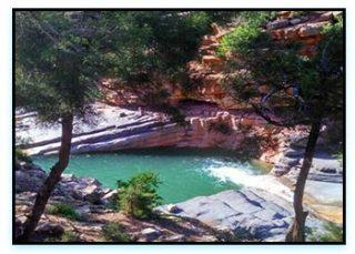 Immouzer le cascate della valle del Paradiso