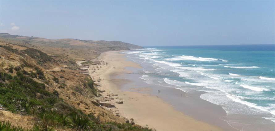 paradise beach asilah Marocco