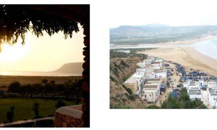 La baia di Tafedna Marocco