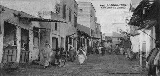Mellah di Marrakech ieri