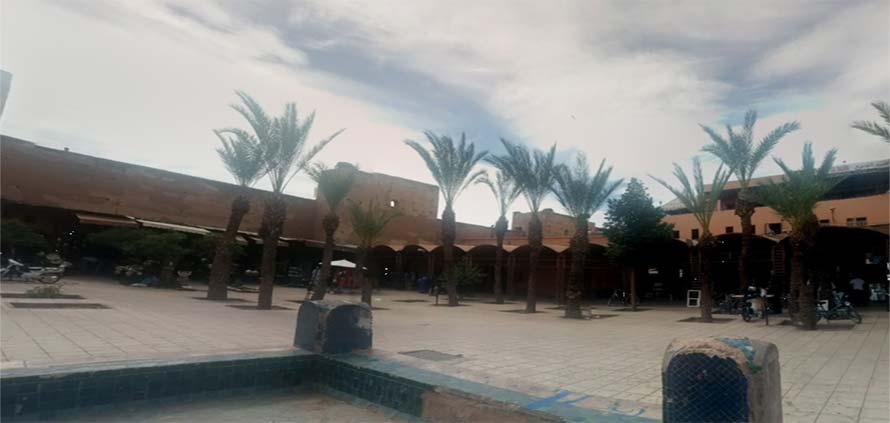 Piazza dei Ferblantiers Marrakech